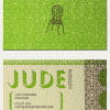 Thumbnail image for Jude Interiors' Textured Business Card