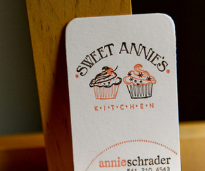 Thumbnail image for Sweet Annie's Cute Business Card