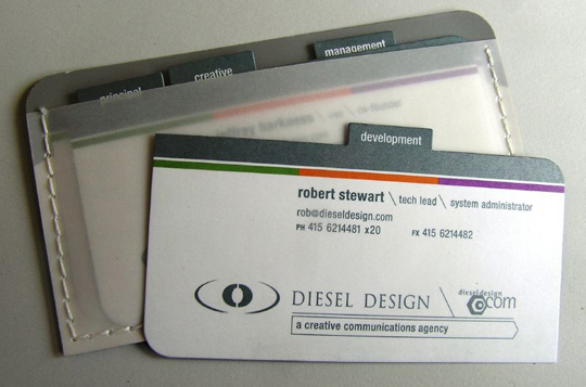 Post image for Diesel Design's Portfolio Business Card