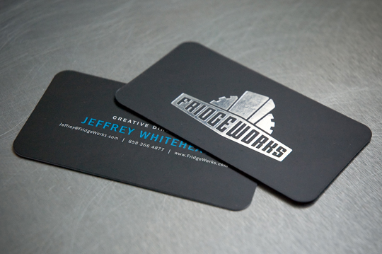 Jeffrey Whitehead's Cool Business Card