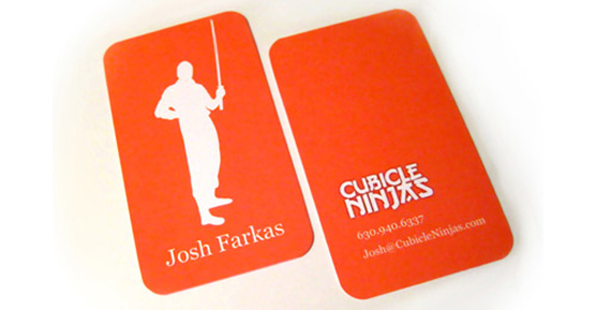 Post image for Josh Frakas' Orange Business Card