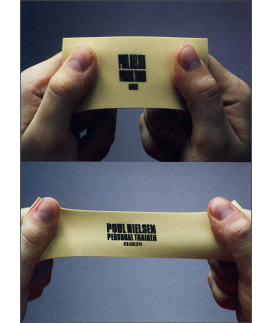 Post image for Poul Nielsen's Elastic Business Card