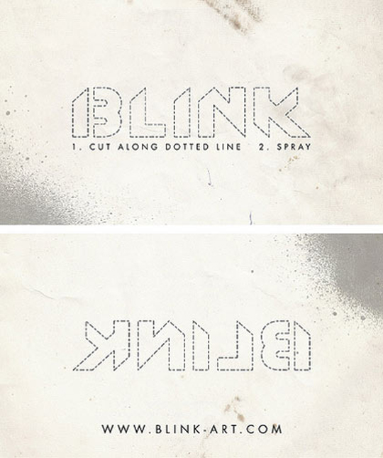 Blink's Business Card
