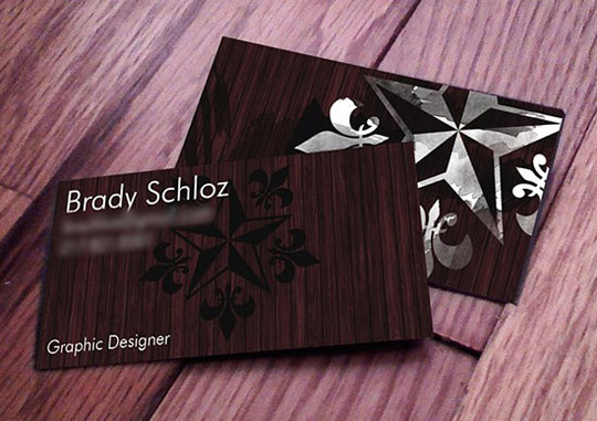 Brady Schloz' Cool Business Card