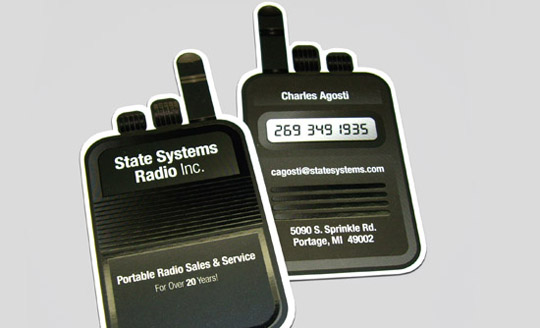 State Systems Radio Inc.'s Business Card
