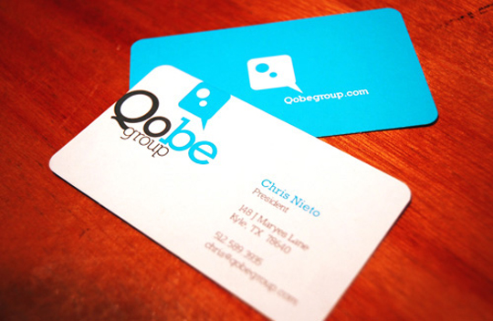 Qobe Group's Creative Business Card