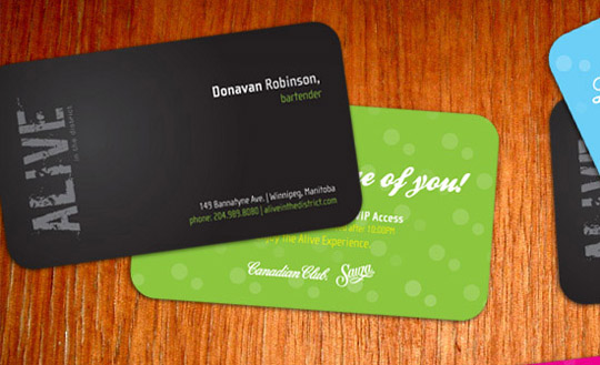 Post image for Alive in the District Business card