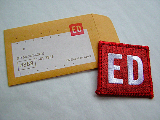 Post image for Ed Mulloch's Business Card
