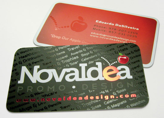 Post image for Nova Idea&#8217;s Business Card