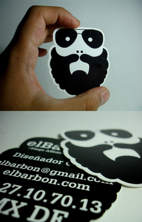 El Barbon's Business Card