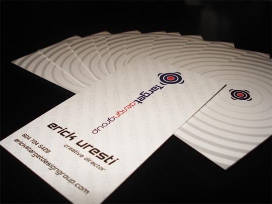 Target Design Group's Cool Business Card