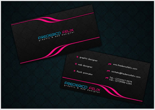 Post image for Frederico Felix's Business Card