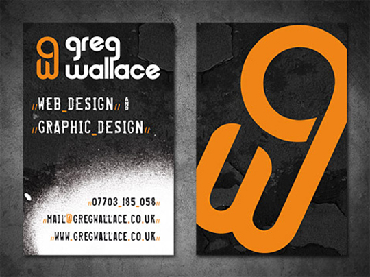 Post image for Greg Wallace's Cool Business Card