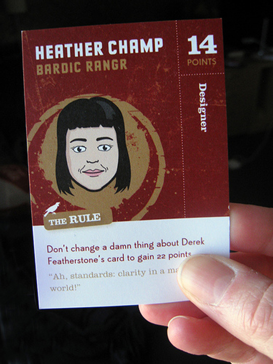 Heather Champ's Creative Business Card