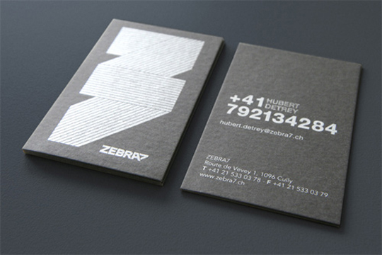 Post image for Zebra7's Business Card