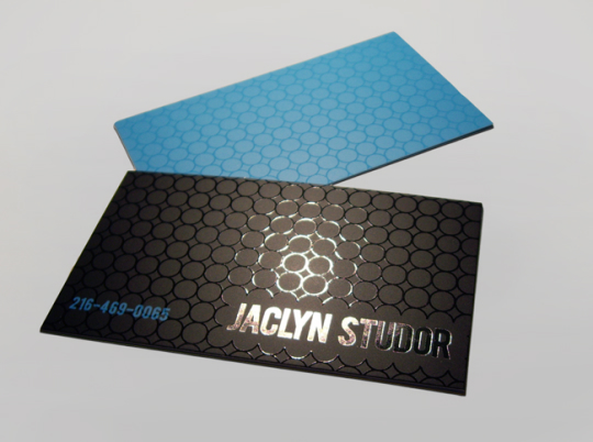 Jaclyn Studor's Cool Business Card