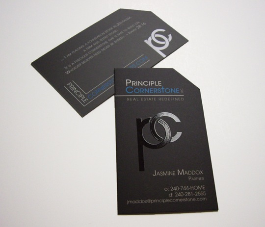 Principle Cornerstone's Business Card
