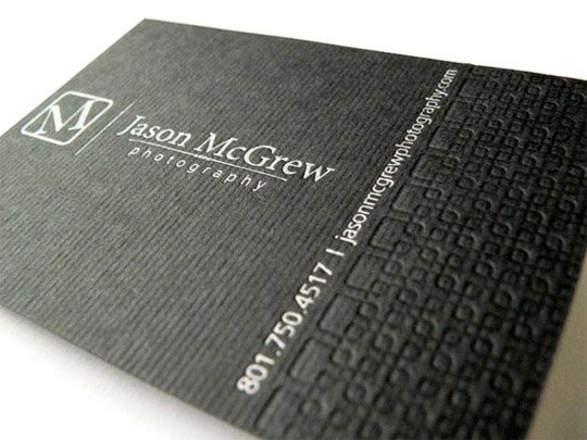 Jason McGrew Business Card
