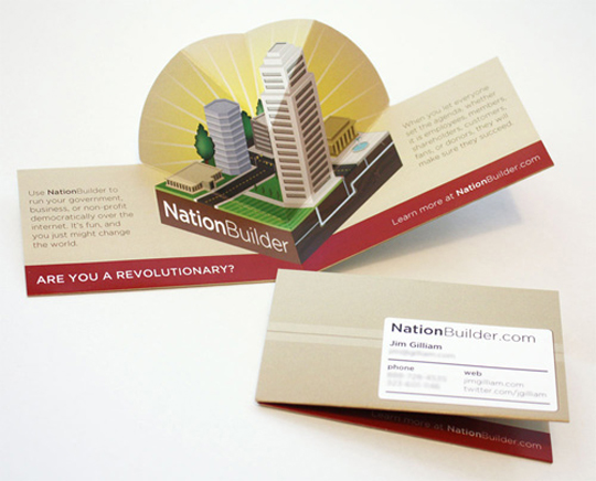 Nation Builder's Business Card