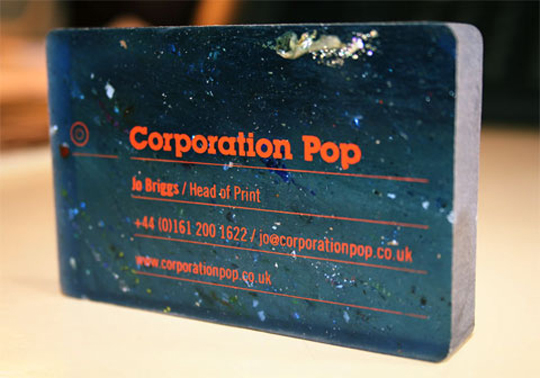 Corporation Pop's Thick Business Card