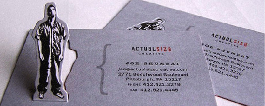 Joe Shumeat's Pop-up Business Card