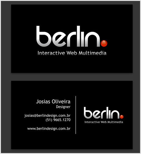 Berlin Interactive's Business Card