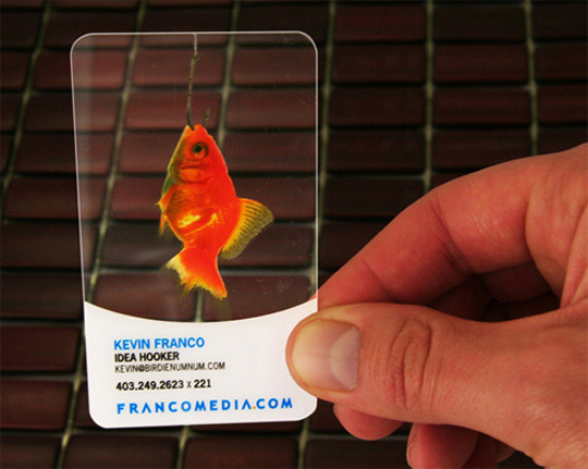 Post image for Francomedia&#8217;s Plastic Business Card
