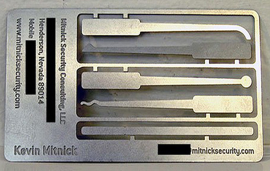 Kevin Mitnick Security Consulting LLC Behind Every Great Business Card Is a Great Designer