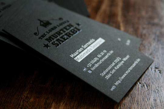 Post image for Murten Saerbi's Business Card