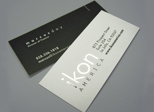 Ikon America's Business Card