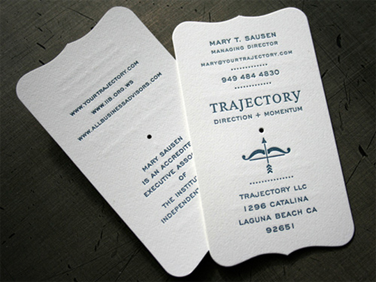 Trajectory's Simple Business Card