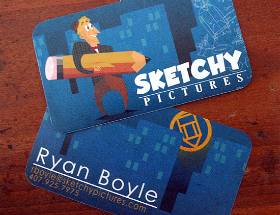 Sketchy Pictures' Business Card