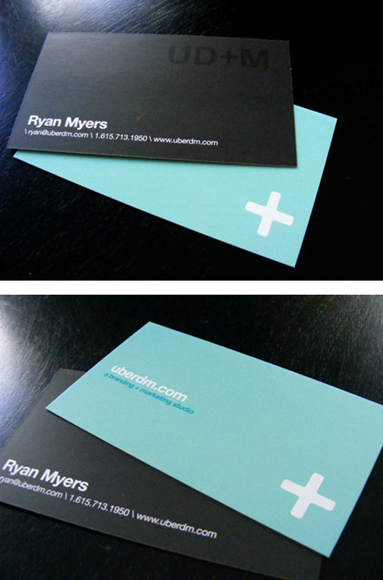 UberDM's Simple Business Card