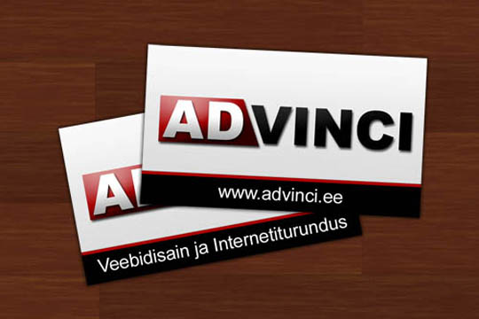 Ad Vinci's Funny Business Card