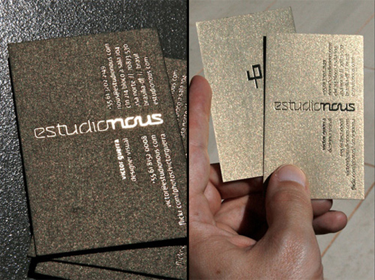 Post image for Estudio Nous' Business Card