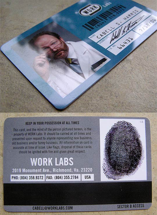 Post image for Work Labs's Business Card