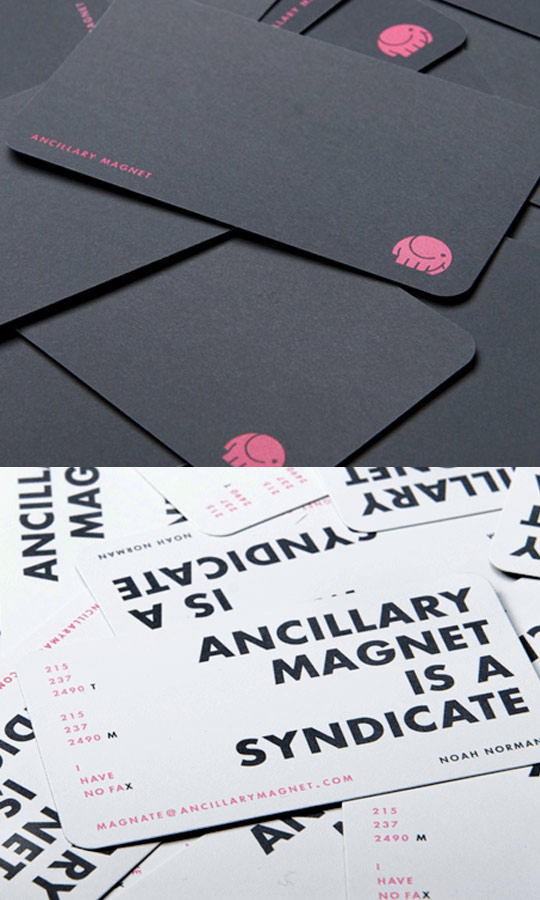 Post image for Ancillary Magnet's Business Card