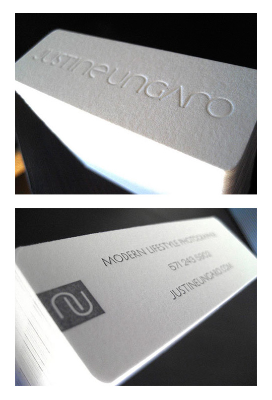 Less is More: 15 Clean & Simple Minimalist Business Cards