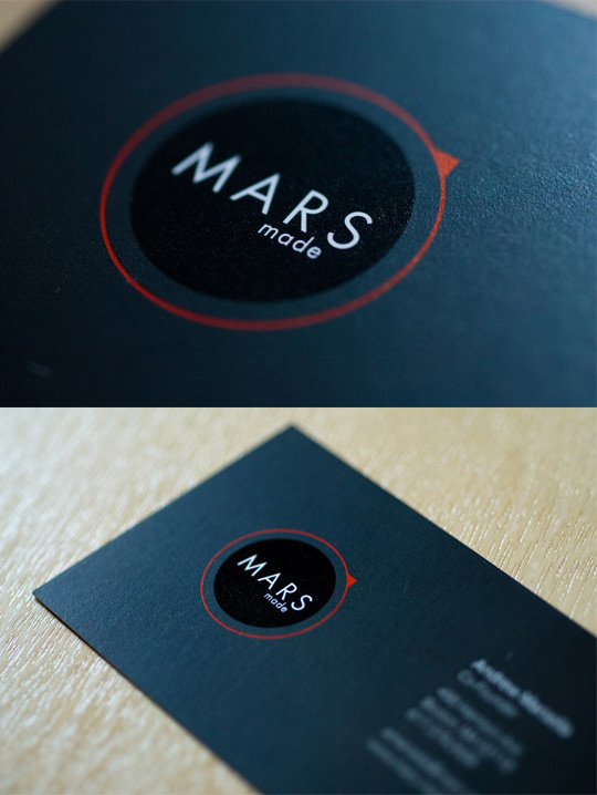 Post image for Mars Made's Business Card