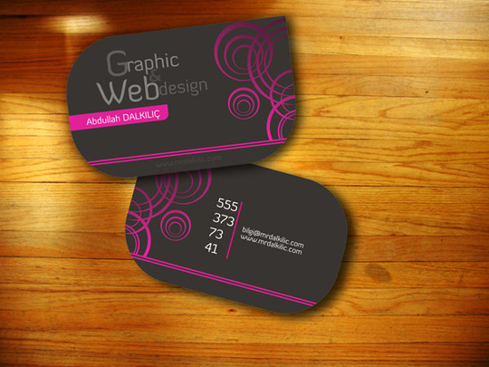 Abdullah Dalkilic's Cool Business Card
