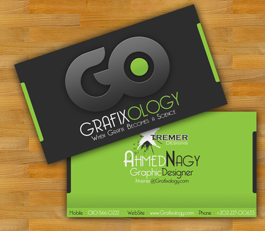 Post image for Grafixology Cool Business Card