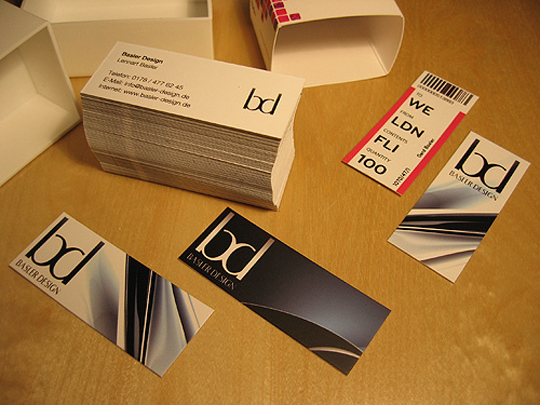Basler Design Designer Business Card