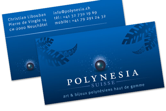 Post image for Polynessia Suisse' Business Card
