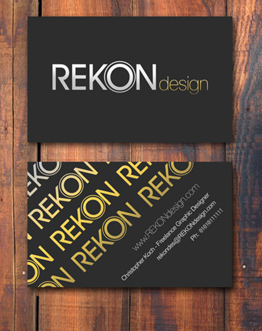 Post image for Rekon Design's Creative Business Card