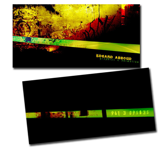 Post image for Edgard Abboud's Cool Business Card