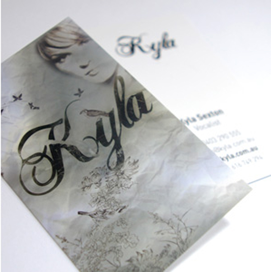 Post image for Kyla's Designer Business Card