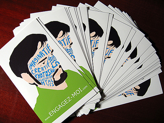 Engagez-Moi.com's Cool Business Card