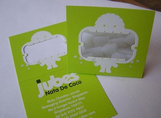 Jubes' Cool Business Card