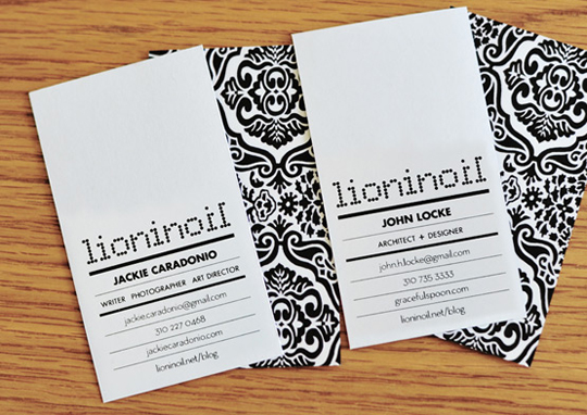 Lioninoil's Designer Business Card