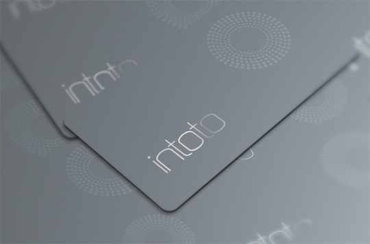 Intoto's Minimalist Business Card